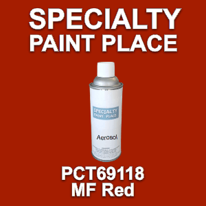 PCT69118 mf red PPG touch-up paint 16oz aerosol can