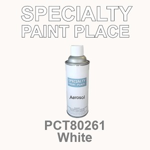 PCT80261 white PPG touch-up paint 16oz aerosol can