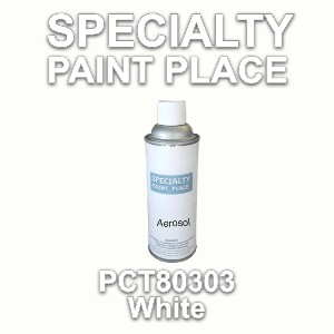 PCT80303 white PPG touch-up paint 16oz aerosol can