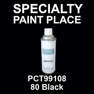 PCT99108 80 Black - PPG 16oz aerosol spray can