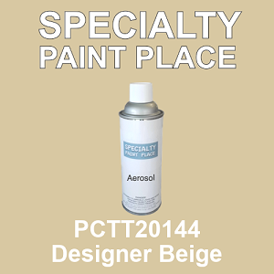 PCTT20144 designer beige PPG touch-up paint 16oz aerosol can