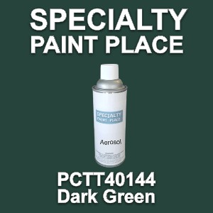 PCTT40144 dark green PPG touch-up paint 16oz aerosol can
