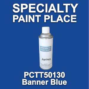 PCTT50130 banner blue PPG touch-up paint 16oz aerosol can