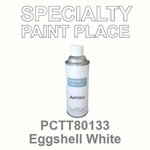 PCTT80133 eggshell white PPG touch-up paint 16oz aerosol can