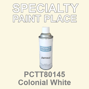 PCTT80145 colonial white PPG touch-up paint 16oz aerosol can
