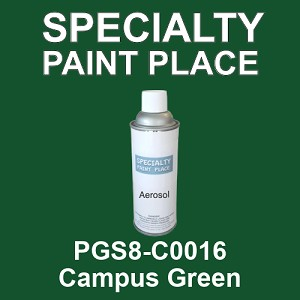 PGS8-C0016 Campus Green - Sherwin Williams 16oz aerosol spray can