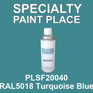 PLSF20040 RAL5018 Turquoise Blue - IFS 16oz aerosol spray can