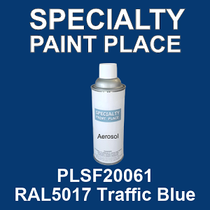 PLSF20061 RAL5017 Traffic Blue - IFS 16oz aerosol spray can