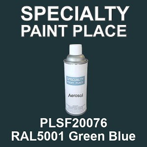 PLSF20076 RAL5001 Green Blue - IFS 16oz aerosol spray can