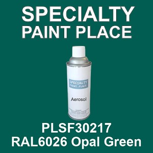 PLSF30217 RAL6026 Opal Green - IFS 16oz aerosol spray can
