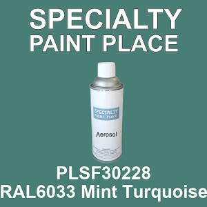 PLSF30228 RAL6033 Mint Turquoise - IFS 16oz aerosol spray can