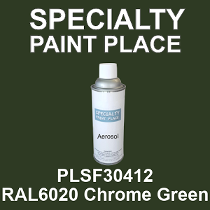 PLSF30412 RAL6020 Chrome Green - IFS 16oz aerosol spray can