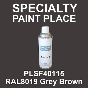 PLSF40115 RAL8019 Grey Brown - IFS 16oz aerosol spray can