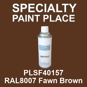 PLSF40157 RAL8007 Fawn Brown - IFS 16oz aerosol spray can