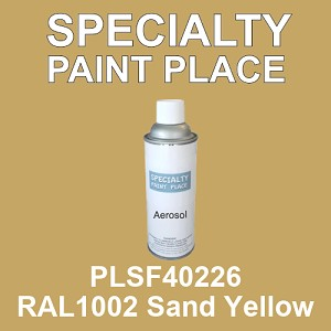 PLSF40226 RAL1002 Sand Yellow - IFS 16oz aerosol spray can