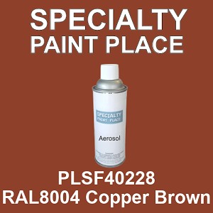 PLSF40228 RAL8004 Copper Brown - IFS 16oz aerosol spray can