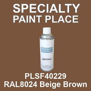 PLSF40229 RAL8024 Beige Brown - IFS 16oz aerosol spray can