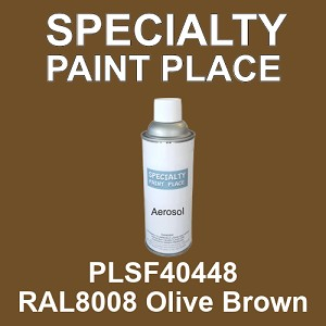 PLSF40448 RAL8008 Olive Brown - IFS 16oz aerosol spray can