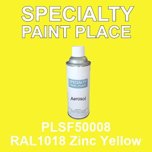 PLSF50008 RAL1018 Zinc Yellow - IFS 16oz aerosol spray can