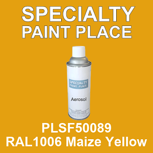 PLSF50089 RAL1006 Maize Yellow - IFS 16oz aerosol spray can