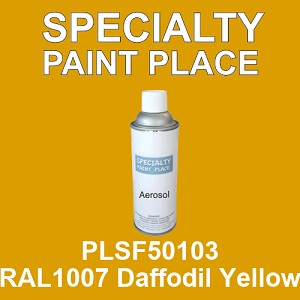 PLSF50103 RAL1007 Daffodil Yellow - IFS 16oz aerosol spray can