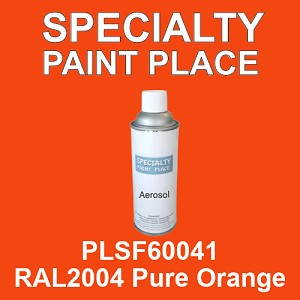 PLSF60041 RAL2004 Pure Orange - IFS 16oz aerosol spray can