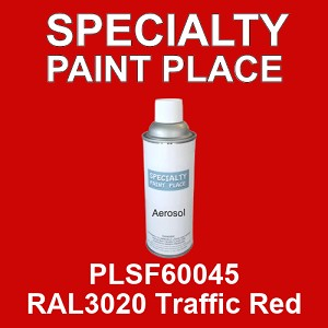 PLSF60045 RAL3020 Traffic Red - IFS 16oz aerosol spray can