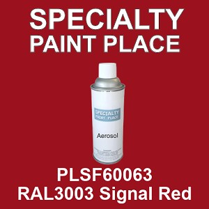 PLSF60063 RAL3003 Signal Red - IFS 16oz aerosol spray can