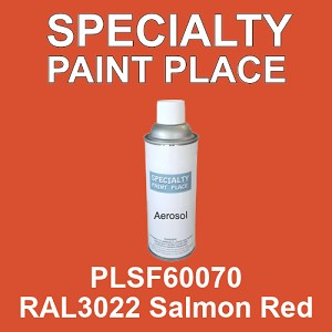 PLSF60070 RAL3022 Salmon Red - IFS 16oz aerosol spray can