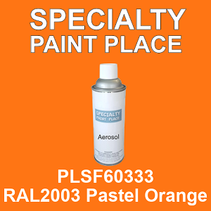 PLSF60333 RAL2003 Pastel Orange - IFS 16oz aerosol spray can