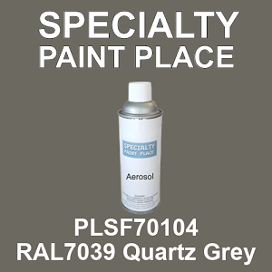PLSF70104 RAL7039 Quartz Grey - IFS 16oz aerosol spray can