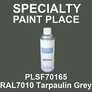 PLSF70165 RAL7010 Tarpaulin Grey - IFS 16oz aerosol spray can