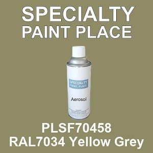 PLSF70458 RAL7034 Yellow Grey - IFS 16oz aerosol spray can