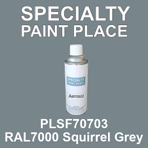 PLSF70703 RAL7000 Squirrel Grey - IFS 16oz aerosol spray can