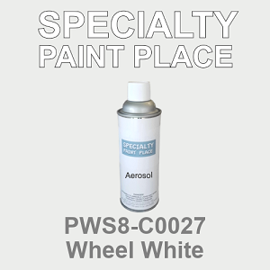 PWS8-C0027 Wheel White - Sherwin Williams 16oz aerosol spray can