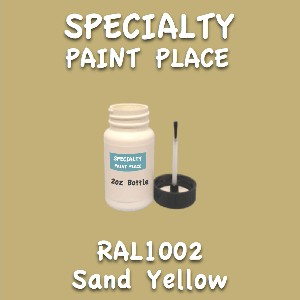 RAL 1002 sand yellow 2oz bottle with brush