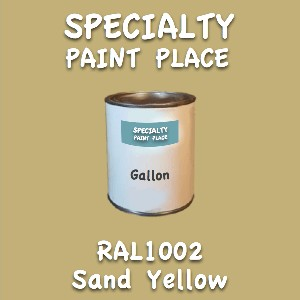RAL 1002 Sand Yellow Gallon Can