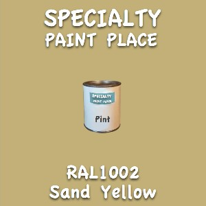 RAL 1002 Sand Yellow Pint Can