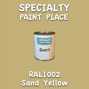 RAL 1002 Sand Yellow Quart Can