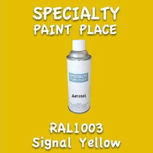 RAL 1003 Signal Yellow 16oz Aerosol Can
