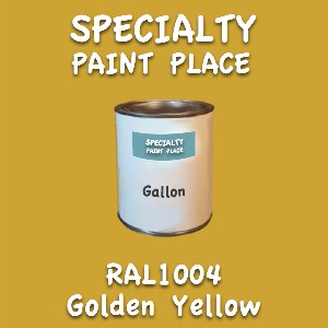 RAL 1004 golden yellow gallon