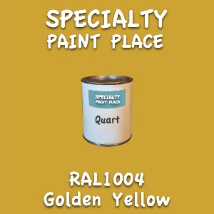 RAL 1004 golden yellow quart