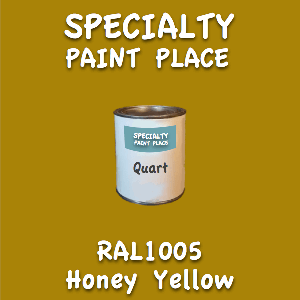 RAL 1005 honey yellow quart