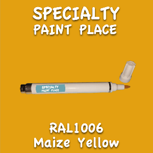 RAL 1006 maize yellow pen