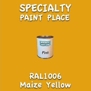 RAL 1006 Maize Yellow Pint Can