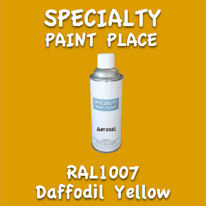 RAL 1007 Daffodil Yellow 16oz Aerosol Can