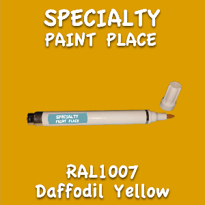 RAL 1007 daffodil yellow pen