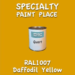 RAL 1007 Daffodil Yellow Quart Can
