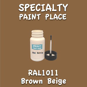 RAL 1011 brown beige 2oz bottle with brush