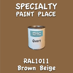 RAL 1011 Brown Beige Quart Can